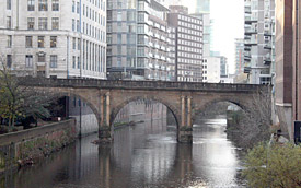 Blackfriars Road Bridge, Manchester