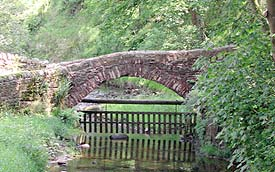 Bleasdale 'packhorse' bridge