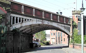Cast Iron Arch, Castle Street, MSJ&A Railway