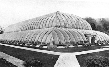 Chatsworth Conservatory and Lily House, site of