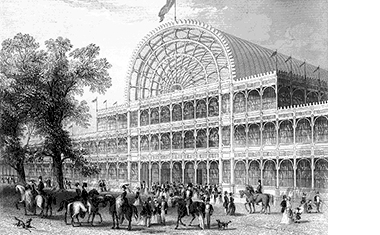 Crystal Palace, site of (Hyde Park)