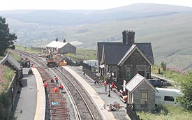 Dent Station, Settle & Carlisle Railway