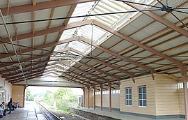 Frome Station roof