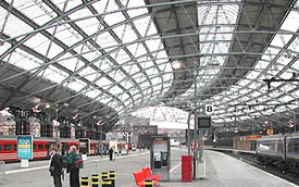 Lime Street Station Roof