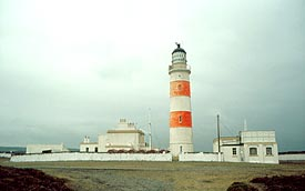 Point of Ayre Upper Lighthouse