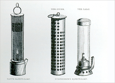 Stephenson Safety Lamp, site of