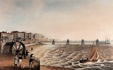 Brighton Chain Pier, site of