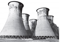 Cooling Towers, Lister Drive, site of
