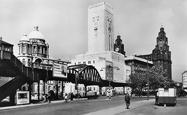 Liverpool Overhead Railway, site of