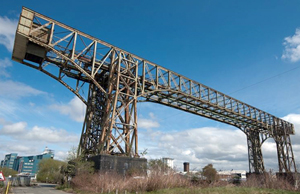 photo courtesy Friends of Warrington Transporter Bridge